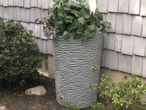 dual spigot decorative rain barrels for only 100 - Decorative Rain Barrels